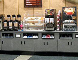 Convenience Store Food Counter
