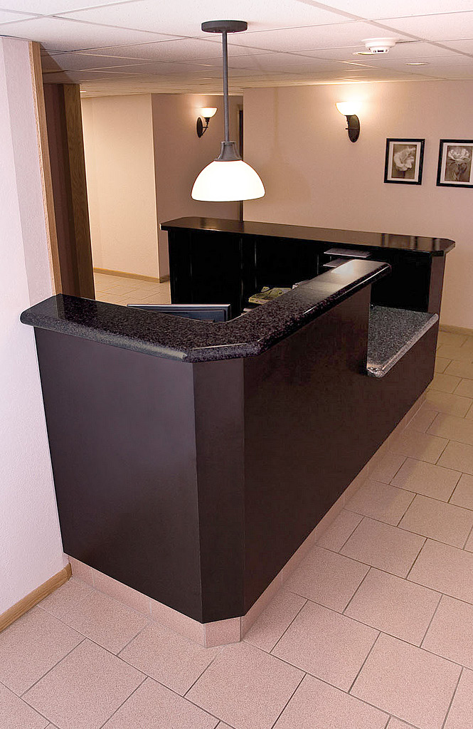 Reception desk lobby desk reception counter front desk for Reception furniture