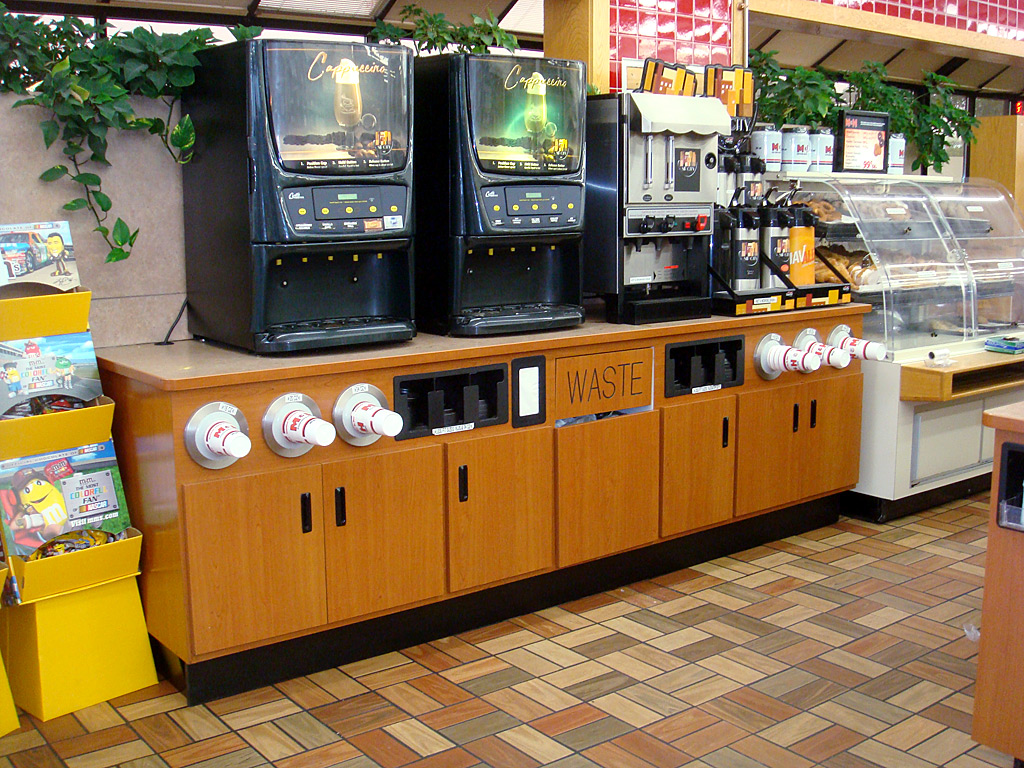 Convenience Store Beverage Counters