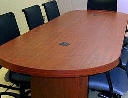 Conference Tables Lecterns Conference Room Credenza Cabinets - Conference room table grommets