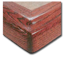 Solid Surface Table Bases Finishes Wood Edging Laminate